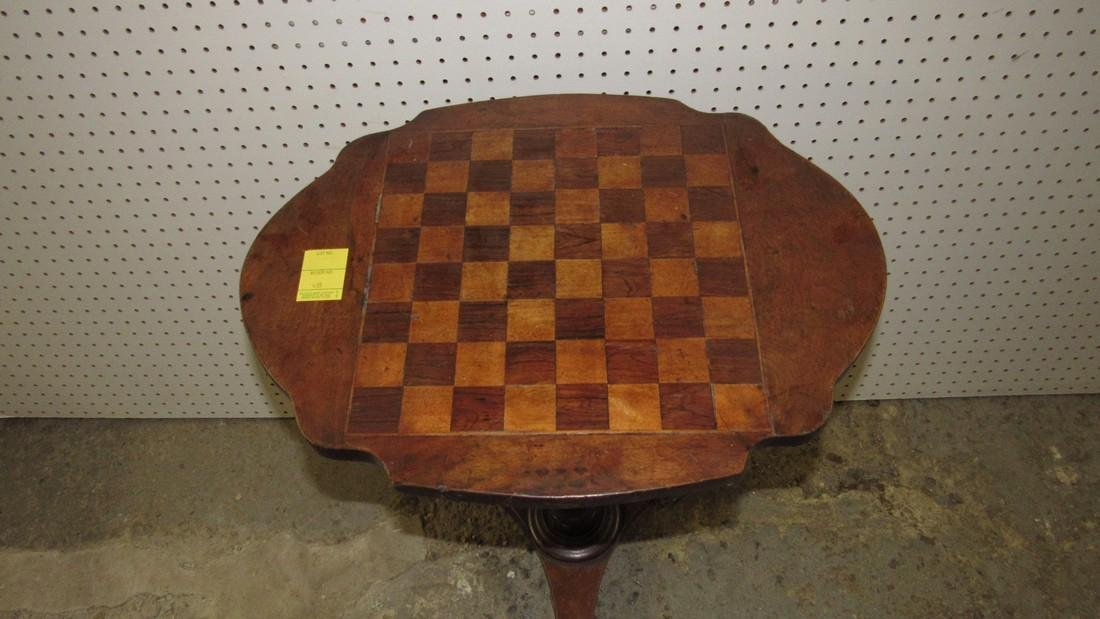 Antique Game Table - 2