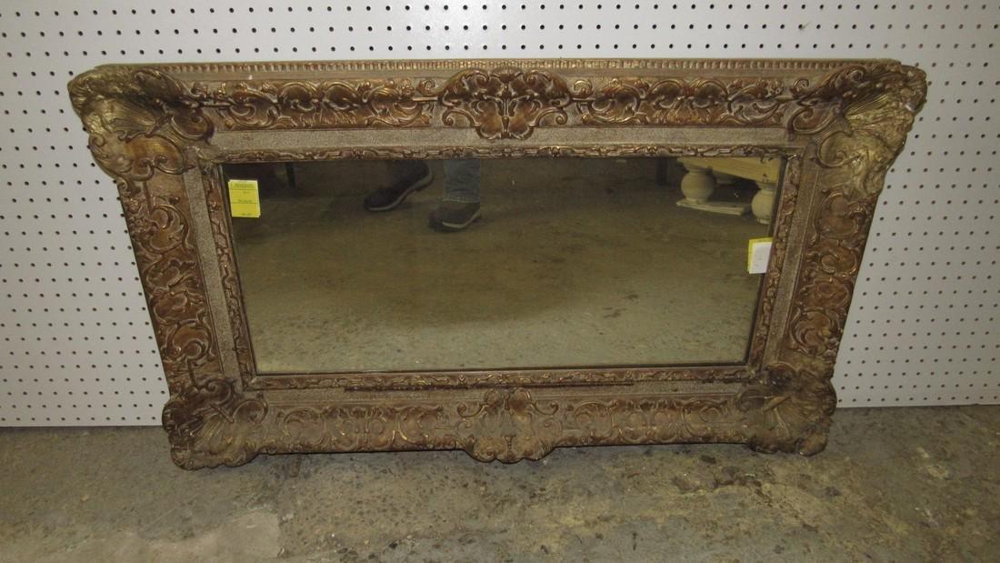 Heavy Gold Guilt Mirror