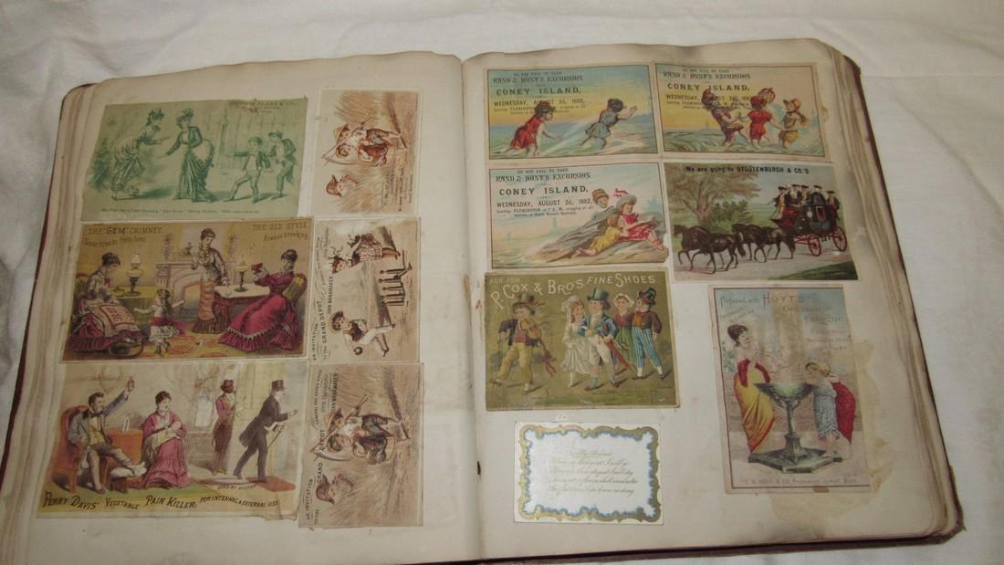 Antique Scrapbook Black Americana Advertising - 10