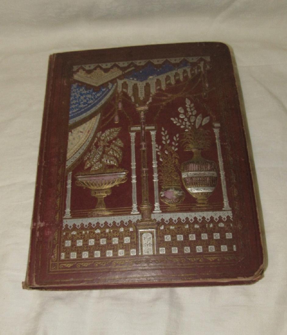 Antique Scrapbook Black Americana Advertising