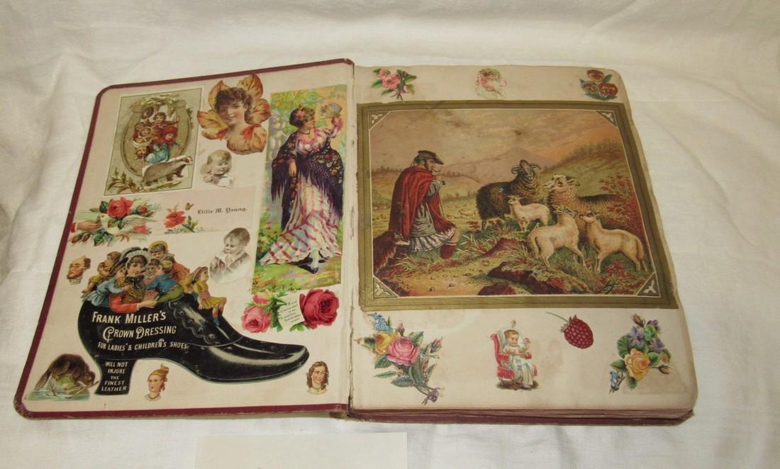Antique Scrapbook Black Americana Advertising - 2