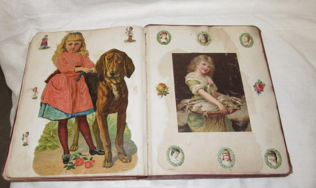 Antique Scrapbook Black Americana Advertising - 3