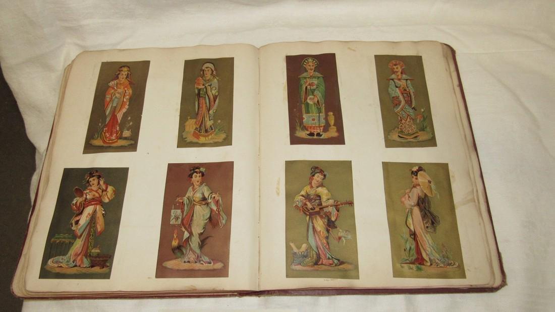 Antique Scrapbook Black Americana Advertising - 5