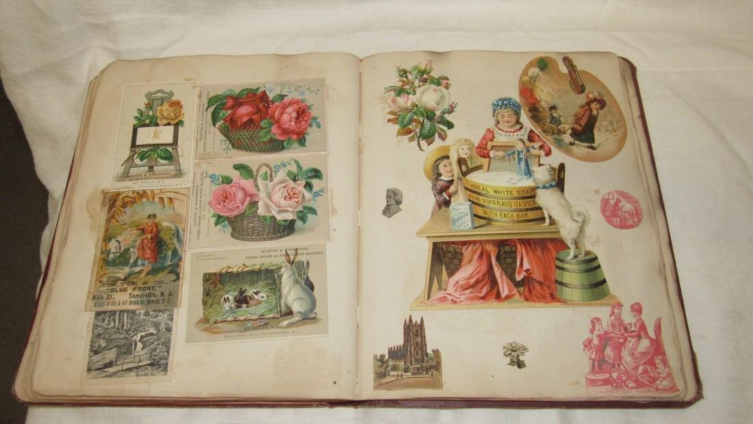 Antique Scrapbook Black Americana Advertising - 6