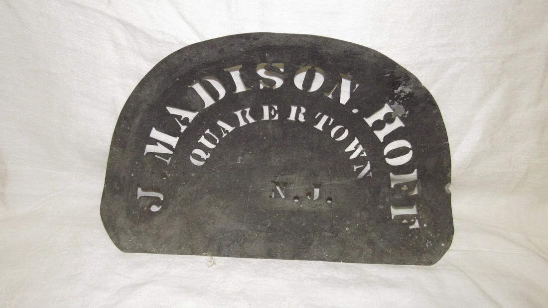 J Madison Quakertown NJ Cut Out