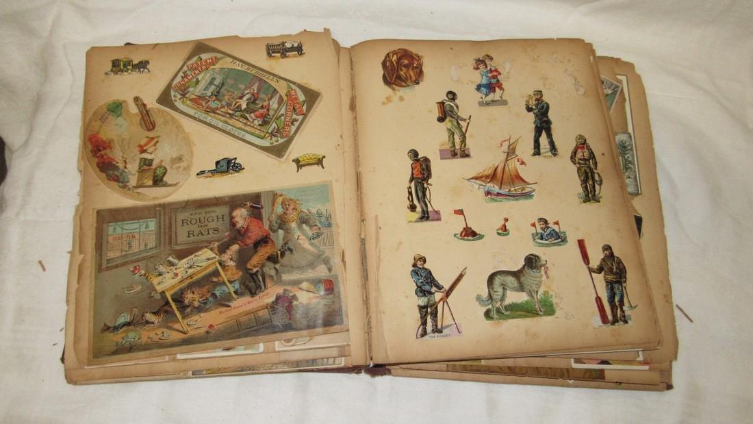 Antique Scrabook Album - 10