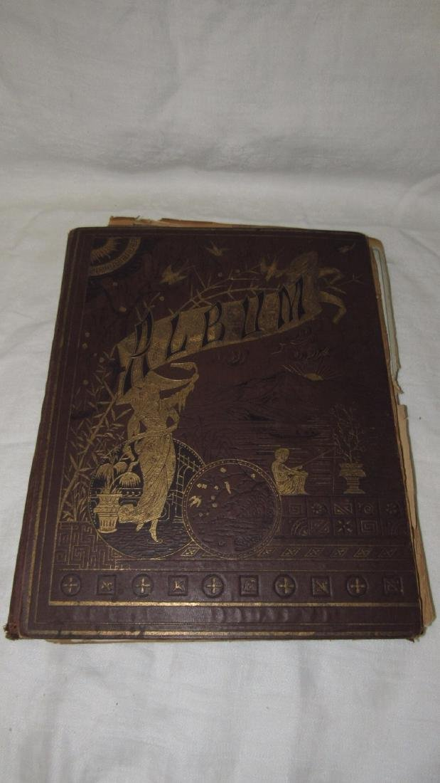 Antique Scrabook Album