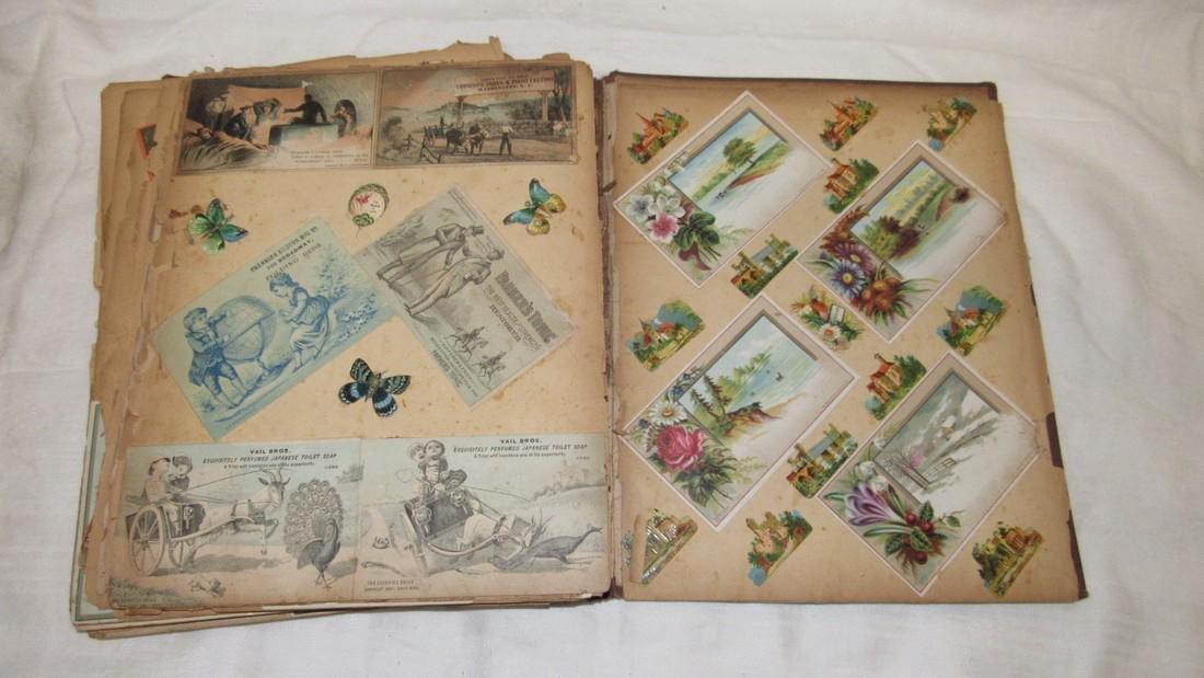 Antique Scrabook Album - 2