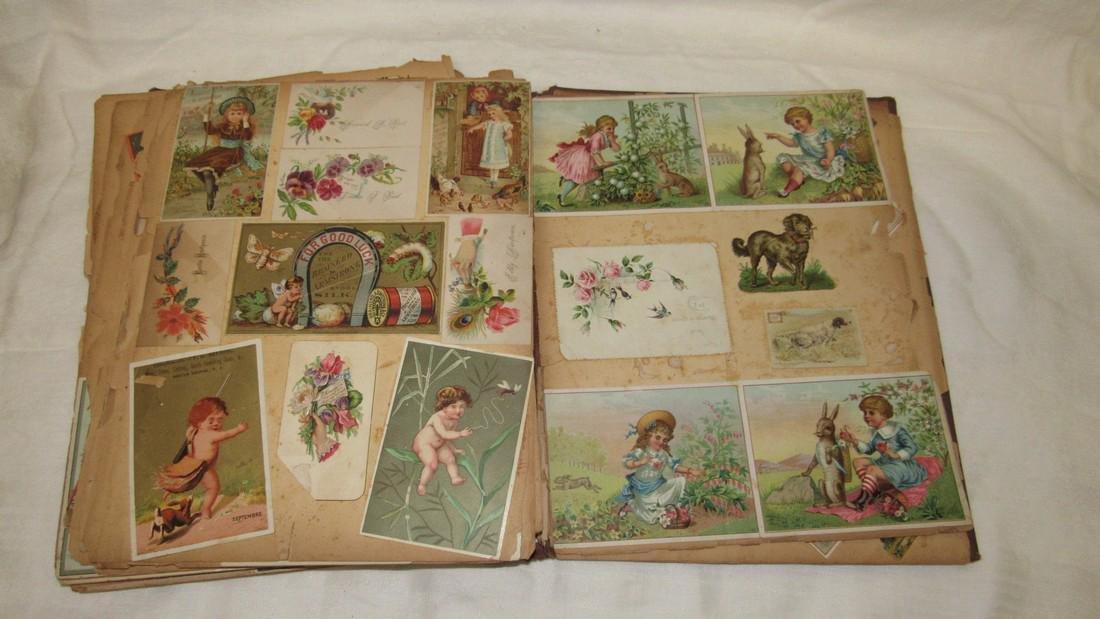 Antique Scrabook Album - 3