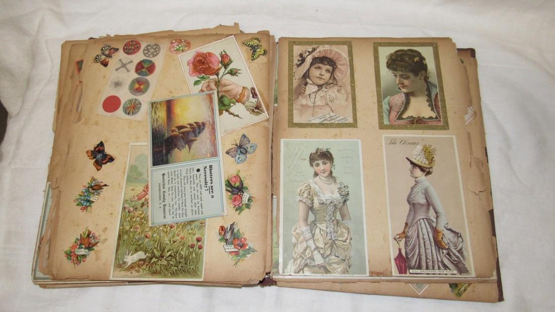 Antique Scrabook Album - 4