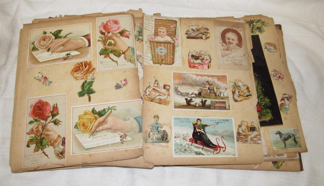 Antique Scrabook Album - 5