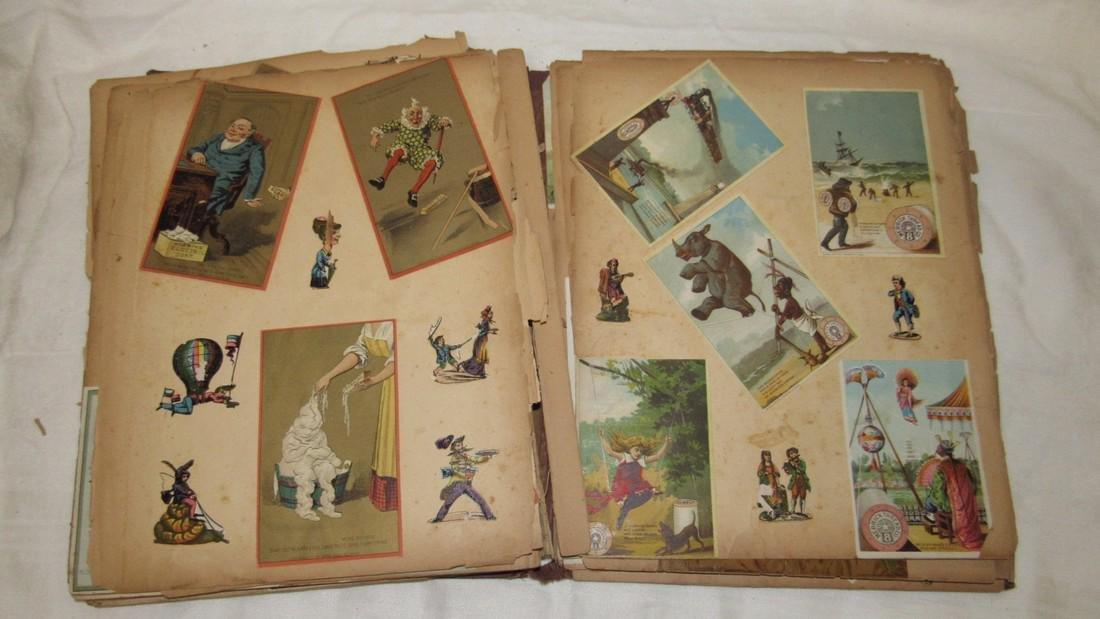 Antique Scrabook Album - 6