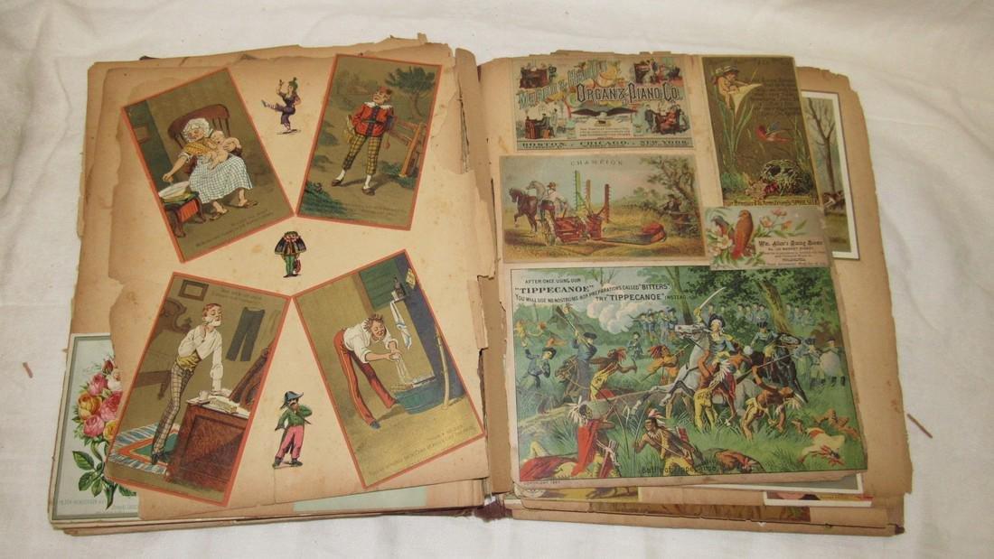 Antique Scrabook Album - 7