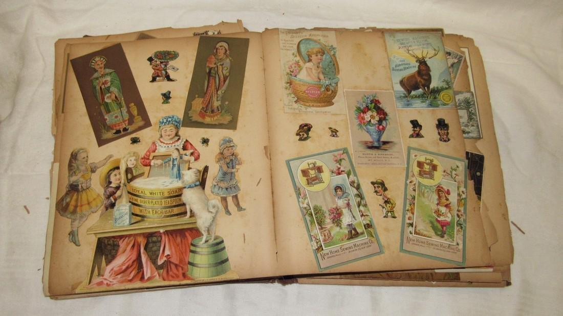 Antique Scrabook Album - 8
