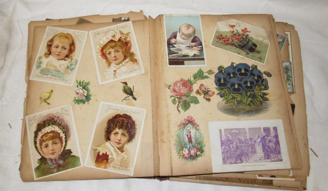Antique Scrabook Album - 9