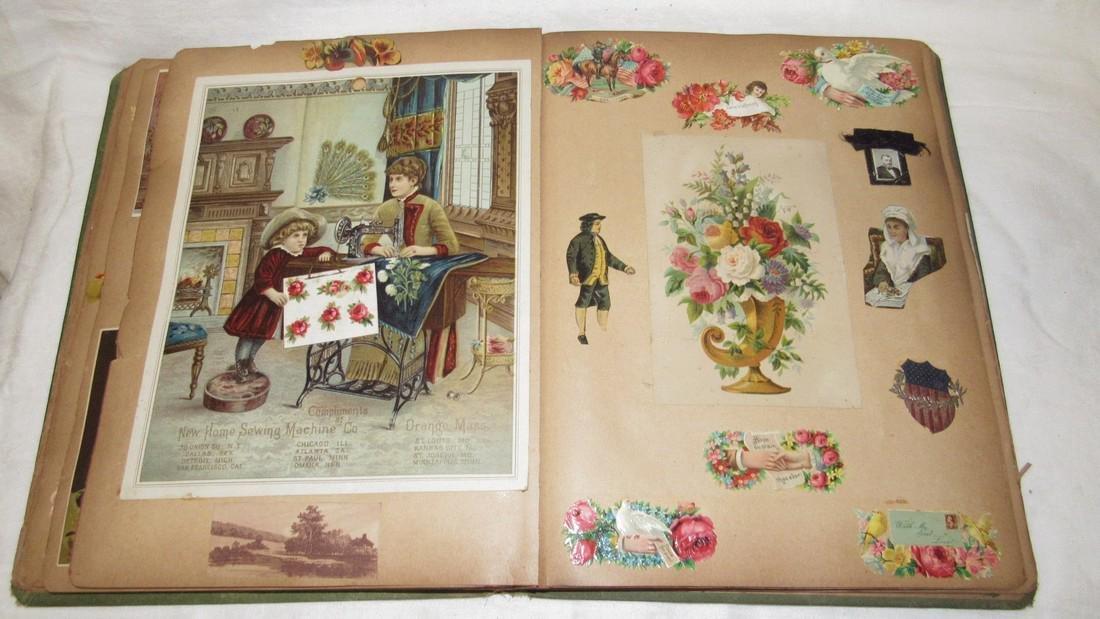 Antique Black Americana Advertising Scrapbook - 10