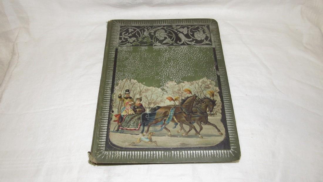 Antique Black Americana Advertising Scrapbook