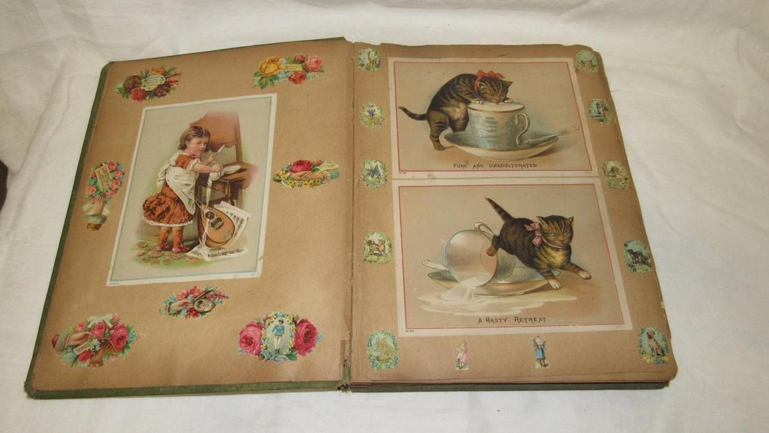 Antique Black Americana Advertising Scrapbook - 2