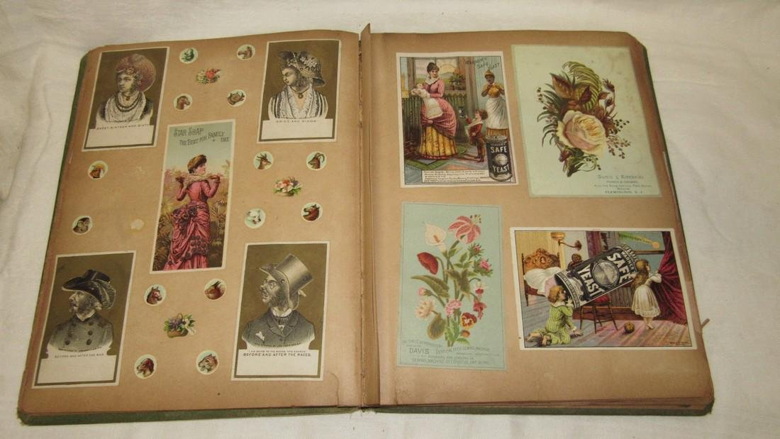 Antique Black Americana Advertising Scrapbook - 7