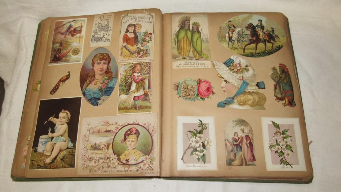 Antique Black Americana Advertising Scrapbook - 9