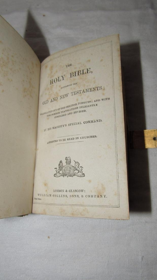 Antique Holy Bible - 5