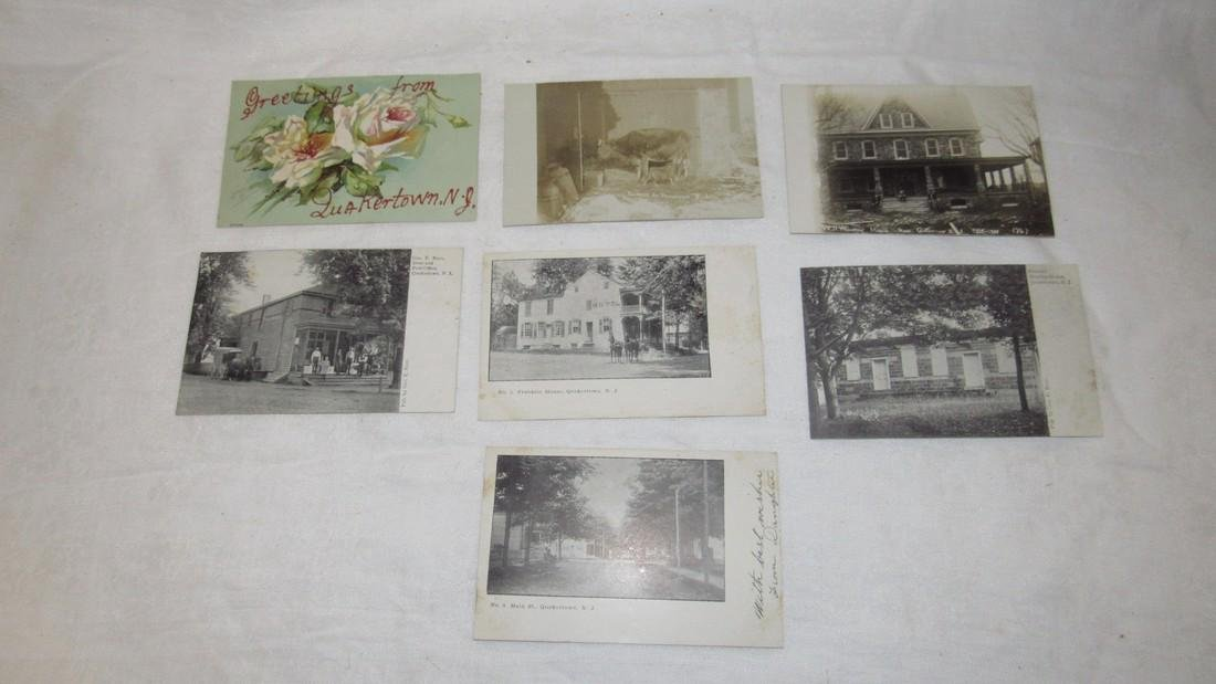 7 Quakertown NJ Postcards Store Post office