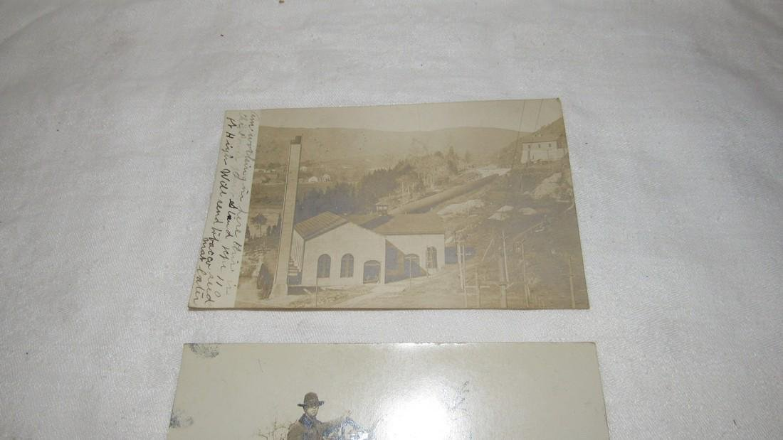 2 Photo Post Cards Hit & Miss Engine - 2
