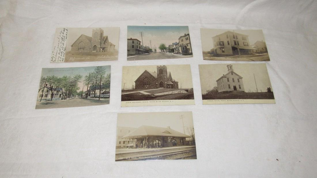 7 Whitehouse Station NJ Postcards Train Station