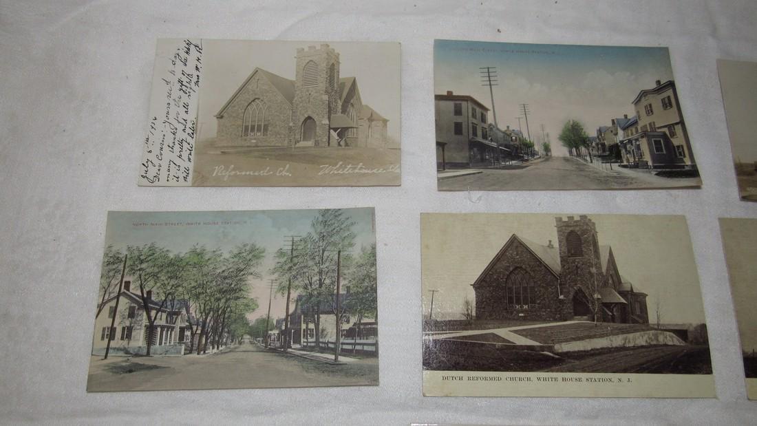 7 Whitehouse Station NJ Postcards Train Station - 2