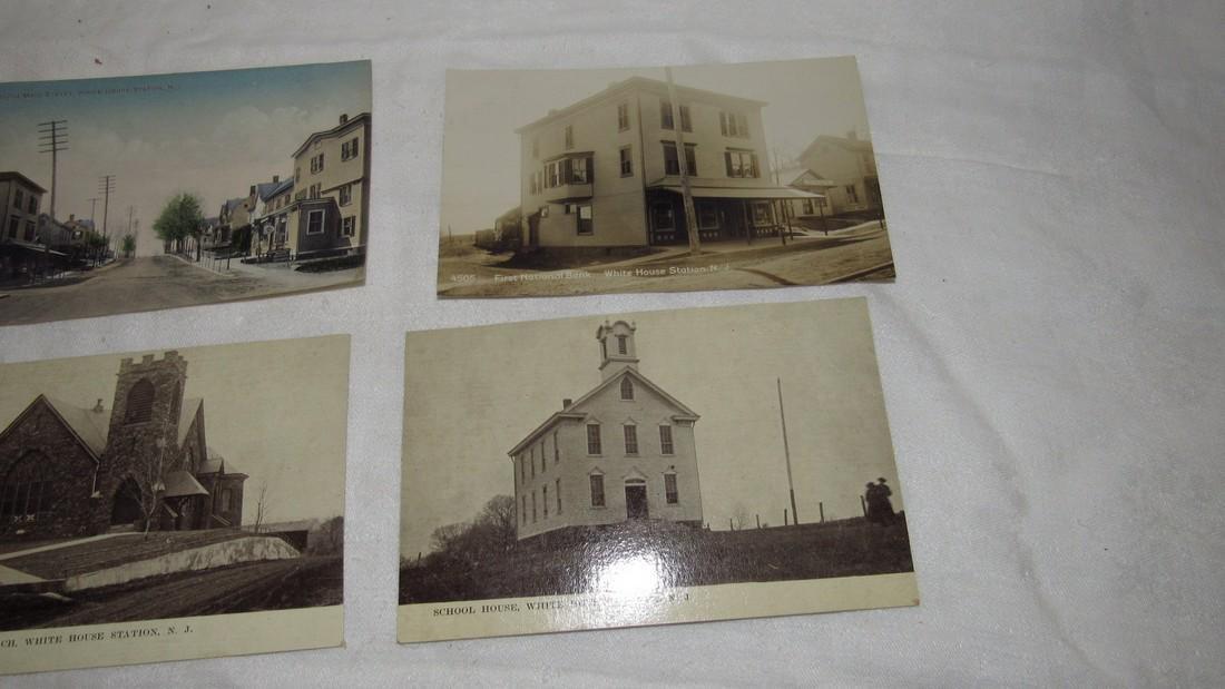 7 Whitehouse Station NJ Postcards Train Station - 3
