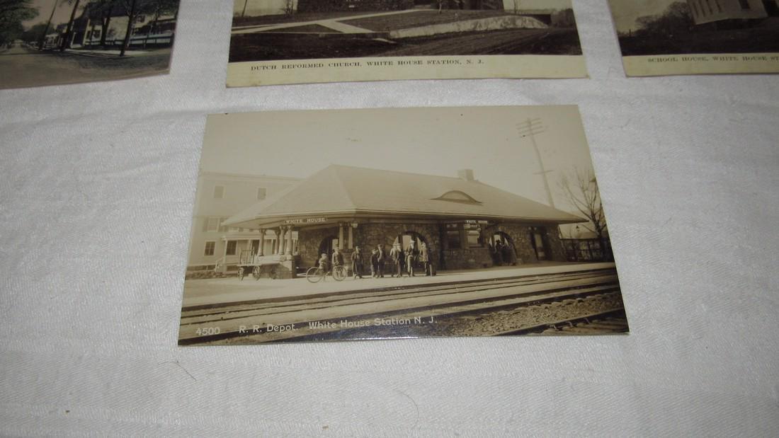7 Whitehouse Station NJ Postcards Train Station - 4