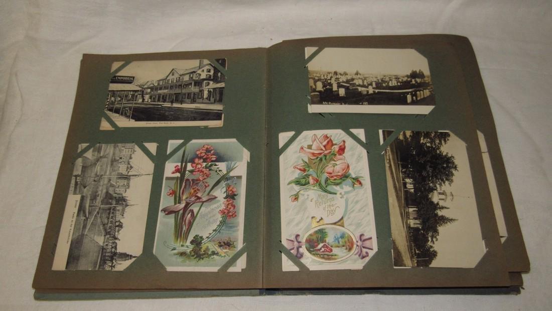 Postcard Album w/ Postcards - 2