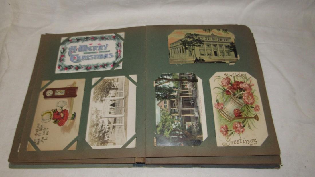 Postcard Album w/ Postcards - 3