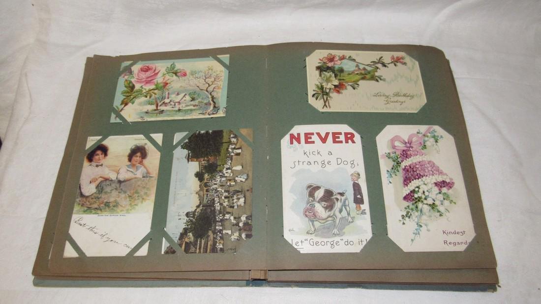 Postcard Album w/ Postcards - 4