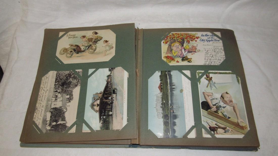 Postcard Album w/ Postcards - 5