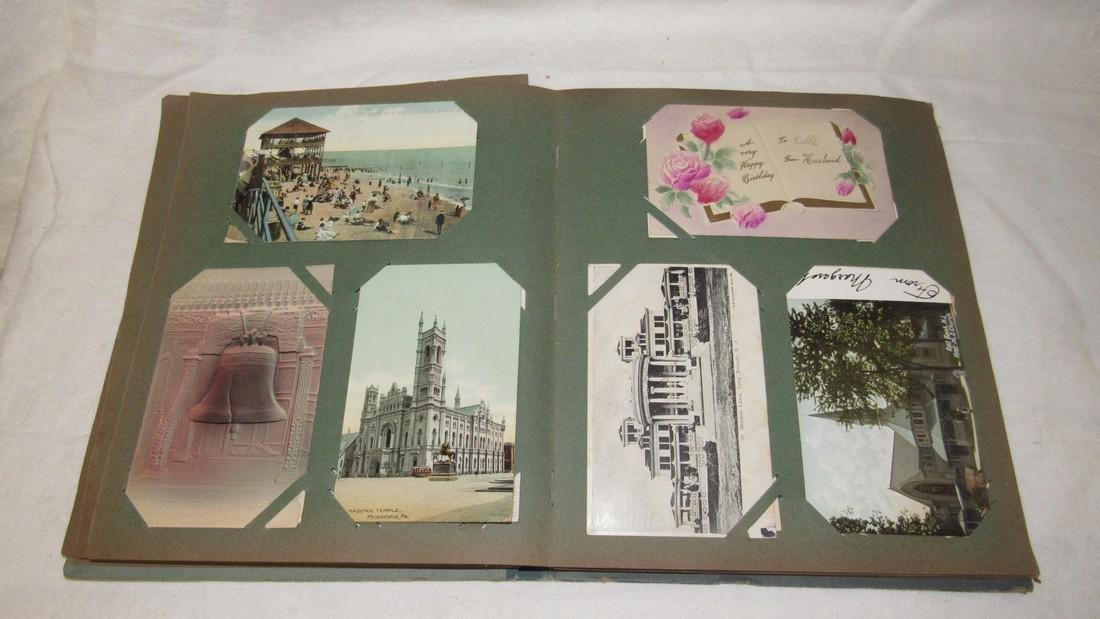 Postcard Album w/ Postcards - 6