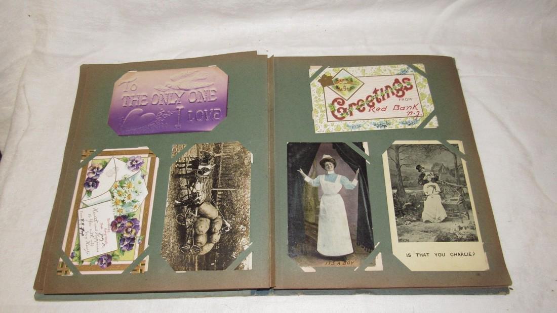 Postcard Album w/ Postcards - 7