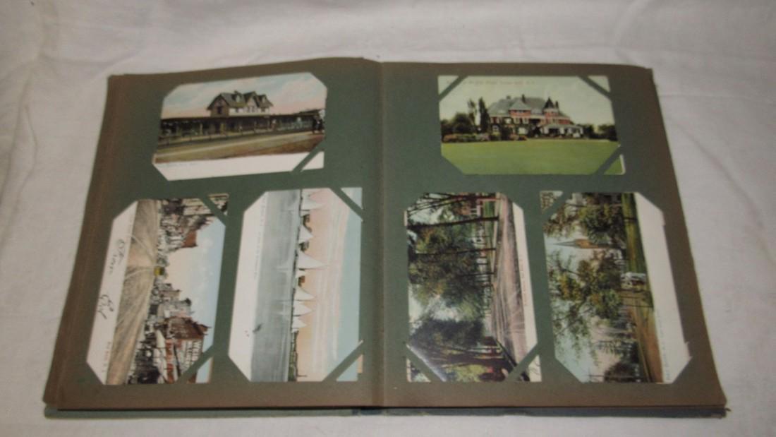 Postcard Album w/ Postcards - 8