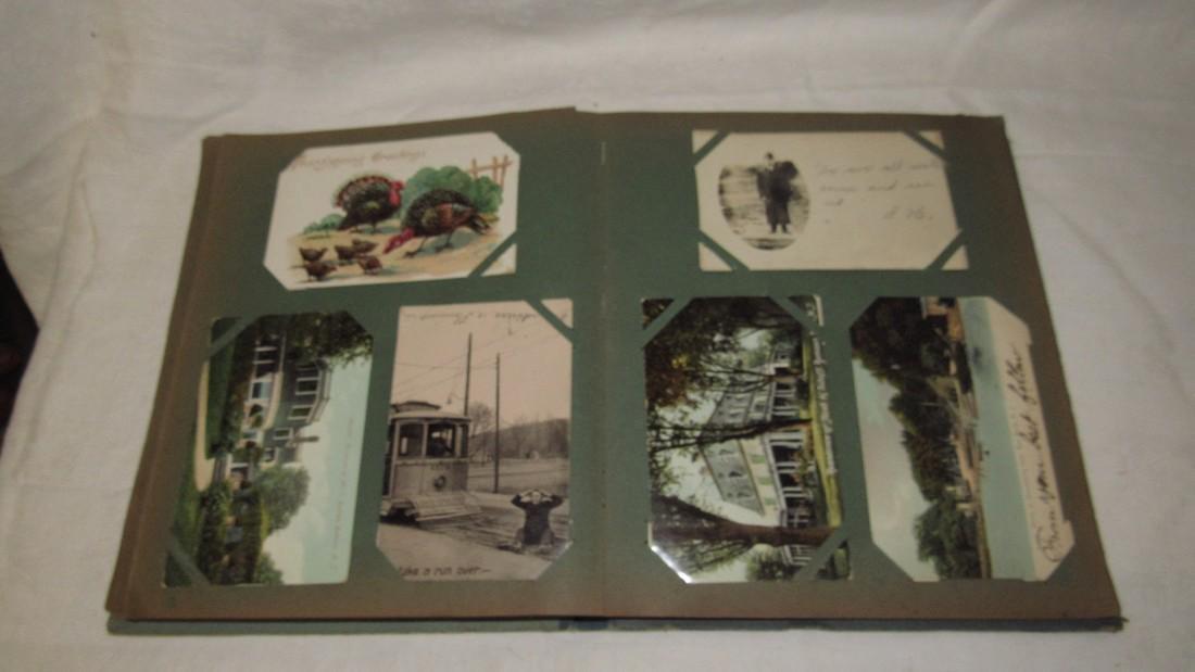 Postcard Album w/ Postcards - 9