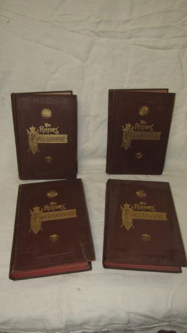 The History of Freemasonary Books Volumes 1-4