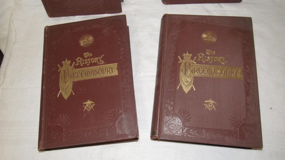 The History of Freemasonary Books Volumes 1-4 - 2