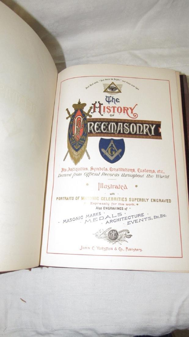 The History of Freemasonary Books Volumes 1-4 - 4