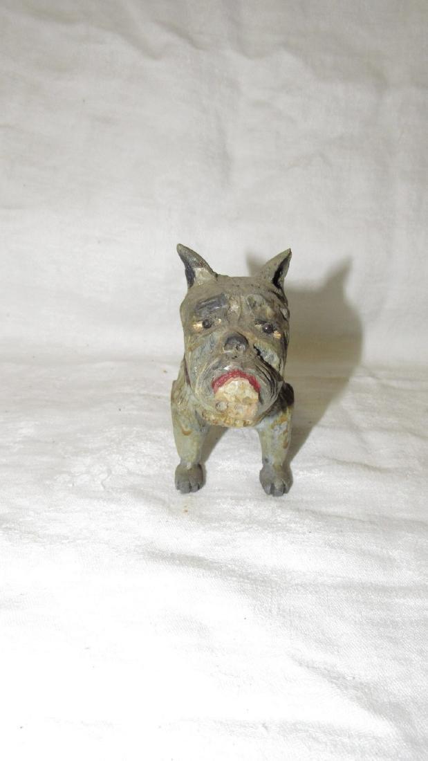 Carved Wooden Dog - 2