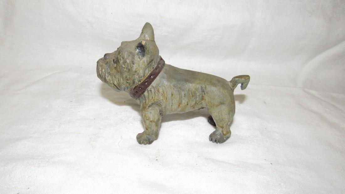 Carved Wooden Dog - 3