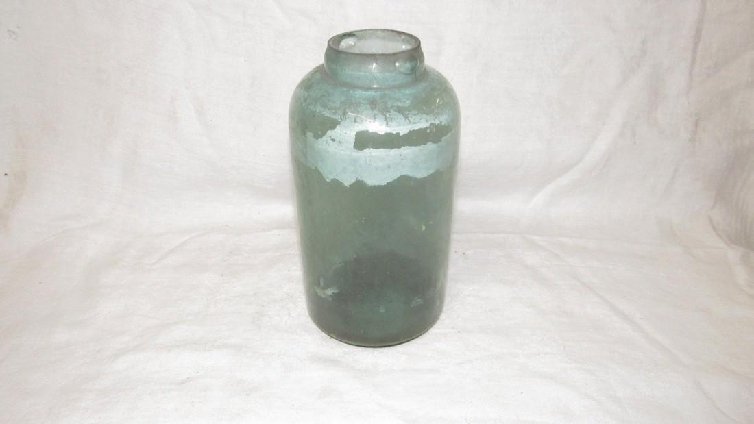 Unusual Antique Fruit Canning Jar