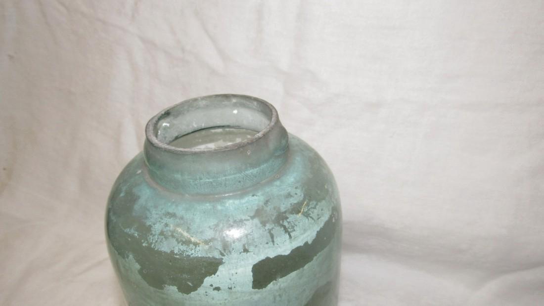 Unusual Antique Fruit Canning Jar - 3
