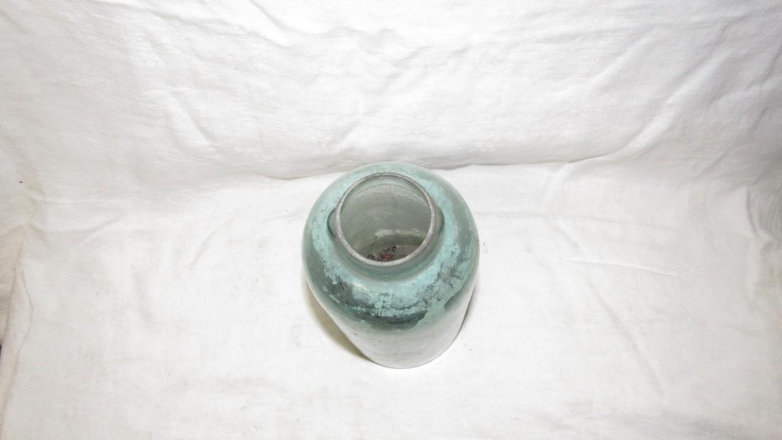 Unusual Antique Fruit Canning Jar - 4