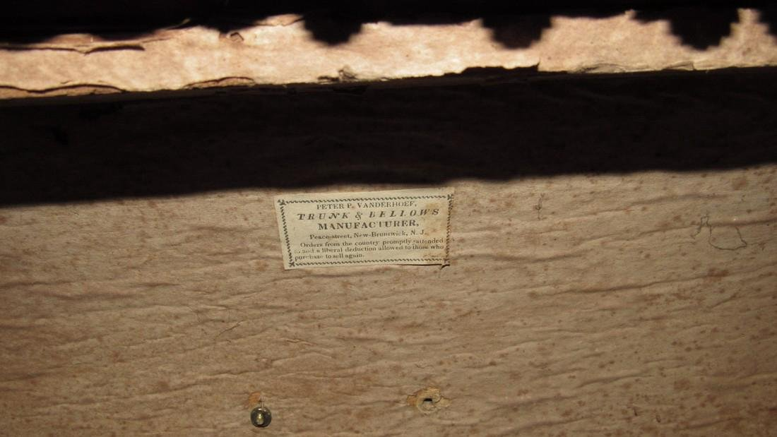 Leather Peter Vanderhoef Trunk - 5