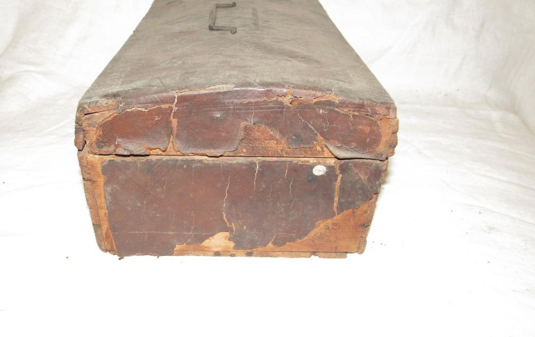 Tooled Leather Document Box - 3