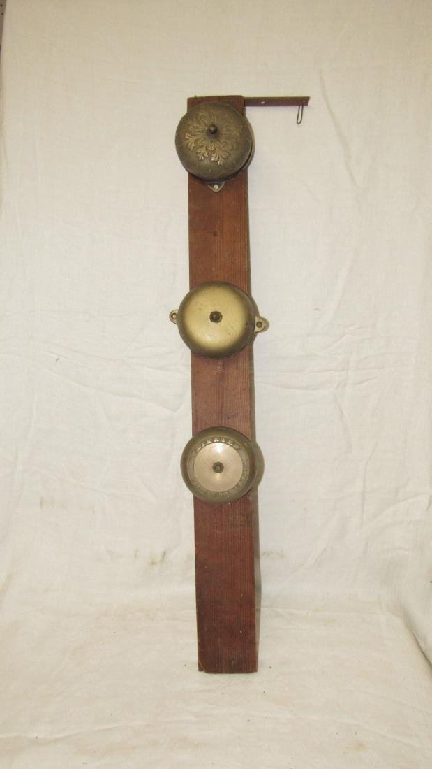Antique 1868 Brass Door Bells